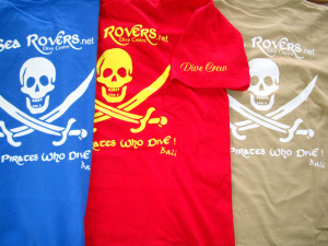 Sea Rovers, Colourful new T's