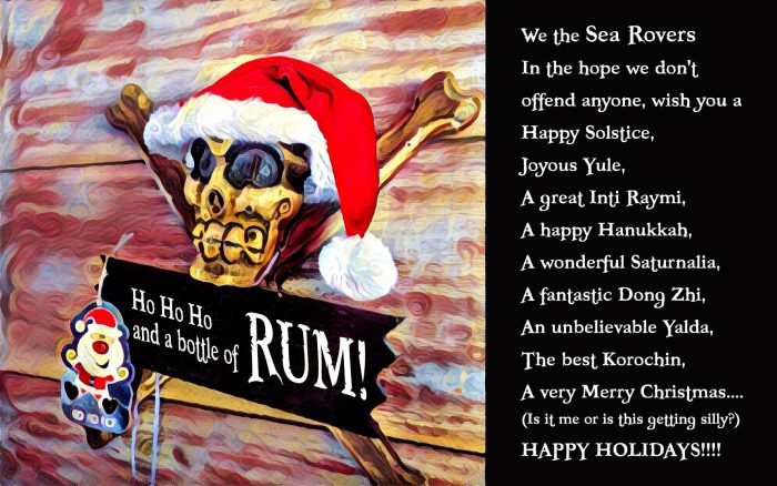 Ho Ho Ho and a bottle of Rum