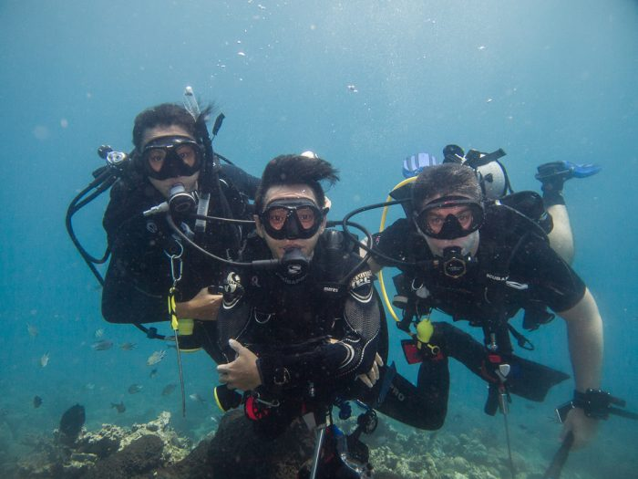 Club Nomad on their last dive in Pemuteran
