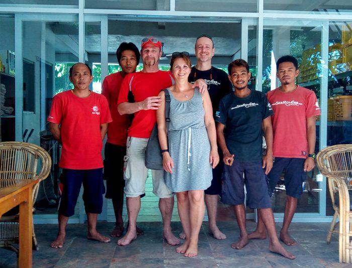 Sea Rovers Brethren, Wayan, Abdul, Paul, Edi, Toni
