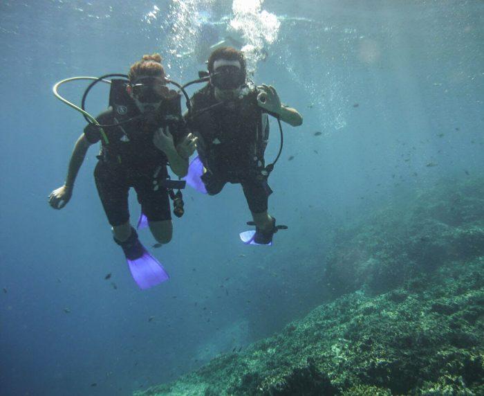 Menjangan, Sea Rovers guests, Bali, Indonesia