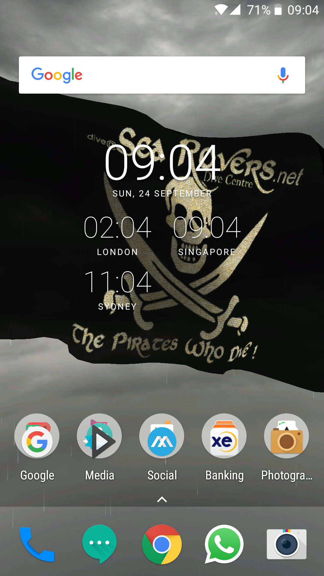 3D Pirate flag on Google Play